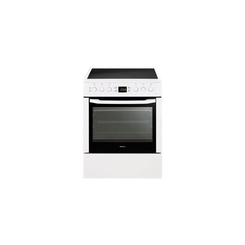 Beko CSM67302GW Κεραμική Κουζίνα