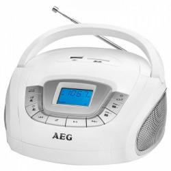 SR4373 WHITE AEG RADIO SD/USB/AU