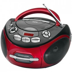 SR4353 AEG RED CD/MP3 PLAYER ΡΑΔΙΟ-CD