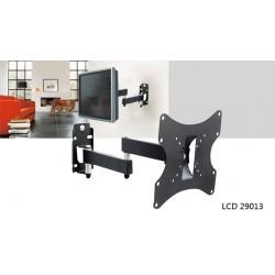 LCD29013 ALFA ΒΑΣΗ ΤΟΙΧΟΥ ΜΕ 2ΠΛΟ ΒΡΑΧΙΟΝΑ TV 200*200MM