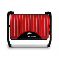 IZZY PANINI SPICY RED CERAMIC S10 ΣΑΝΤΟΥΙΤΣΙΕΡΑ 223074