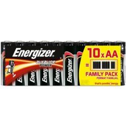ΜΠΑΤΑΡΙΑ ENERGIZER AA/LR6 Family Pack (10τμχ)