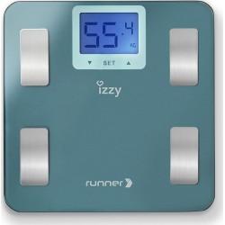 Izzy IZ-7003 Runner ηλεκτρονική ζυγαριά μπάνιου με λιπομέτρηση (223664)