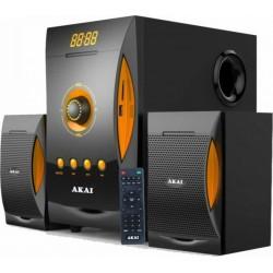 Akai SS032A-3515 Ηχοσύστημα 2.1 με Bluetooth, USB, SD και Ραδιόφωνο